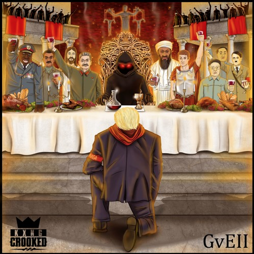 "Review: KXNG Crooked's ""Good Vs. Evil II: The Red Empire"" Drains The Swamp"