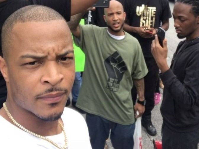 T. I. Joins The Protest Against Atlanta's Restaurant For Alleged Racial Profiling