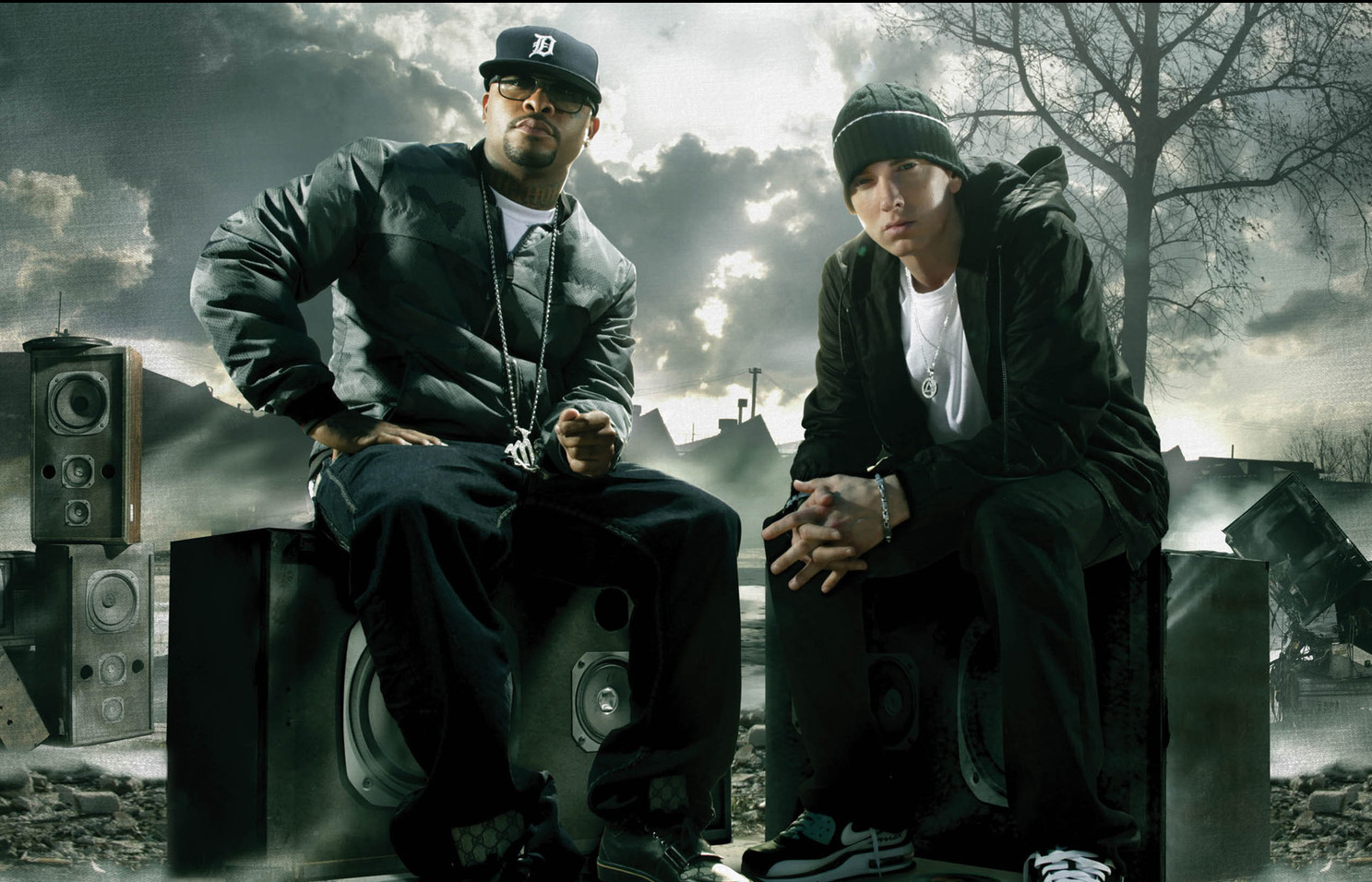 bad meets evil eminem royce