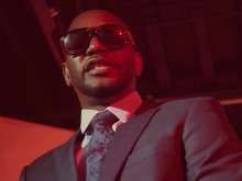 "Cam'ron Gets Suited Up For ""Hello"" Video"