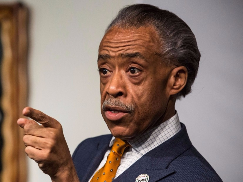 Apo. Al Sharpton For Visiting Meek Mill In Jail