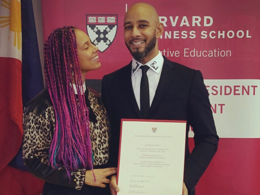 Swizz Beatz Graduates Of The Harvard Business School