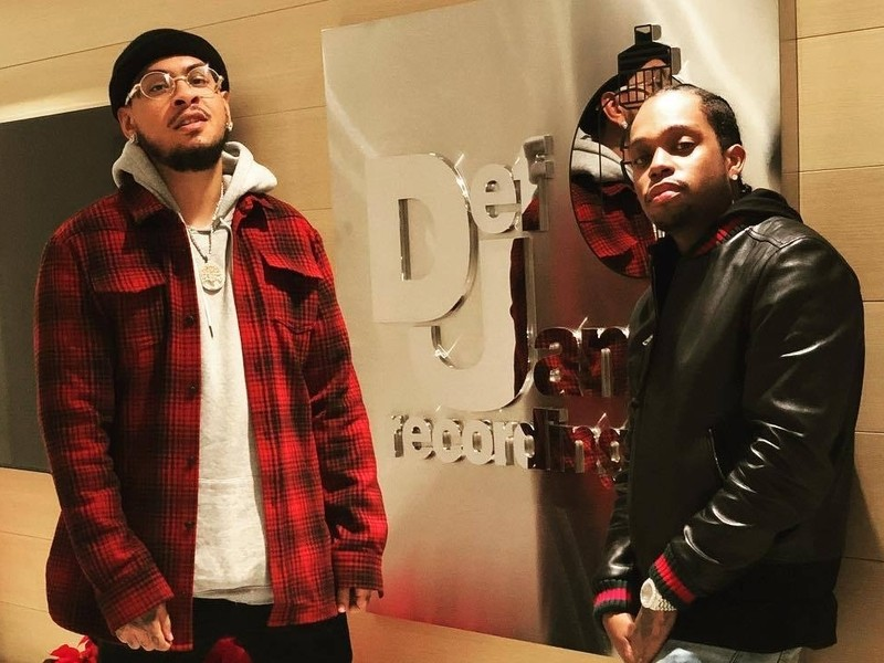 Def Jam Signs Payroll Giovanni & Thistle