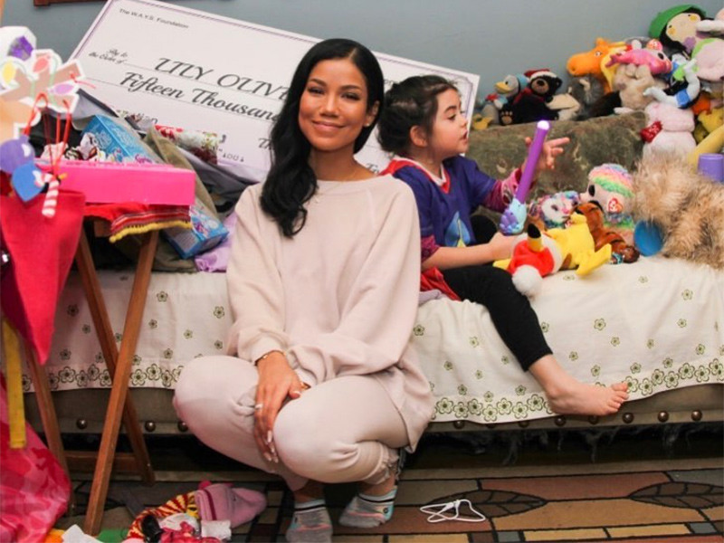 Jhené Aiko begins FORMS the Foundation by Donating To 5 Years of Age With Cancer