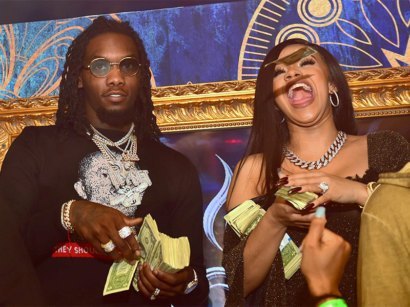 Cardi B & Offset according to the report, to break down the Woman's Pregnancy Claims