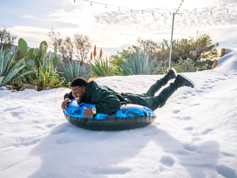 Instagram Flexin': Kevin Hart Slides Into 2018 With Some Good Advice