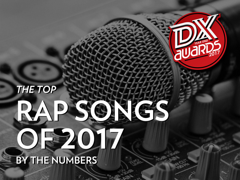 The Top Rap Songs Of 2017: By The Numbers