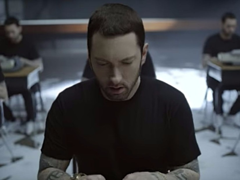 "Eminem's ""Walk On Water"" Video Officially Arrives"