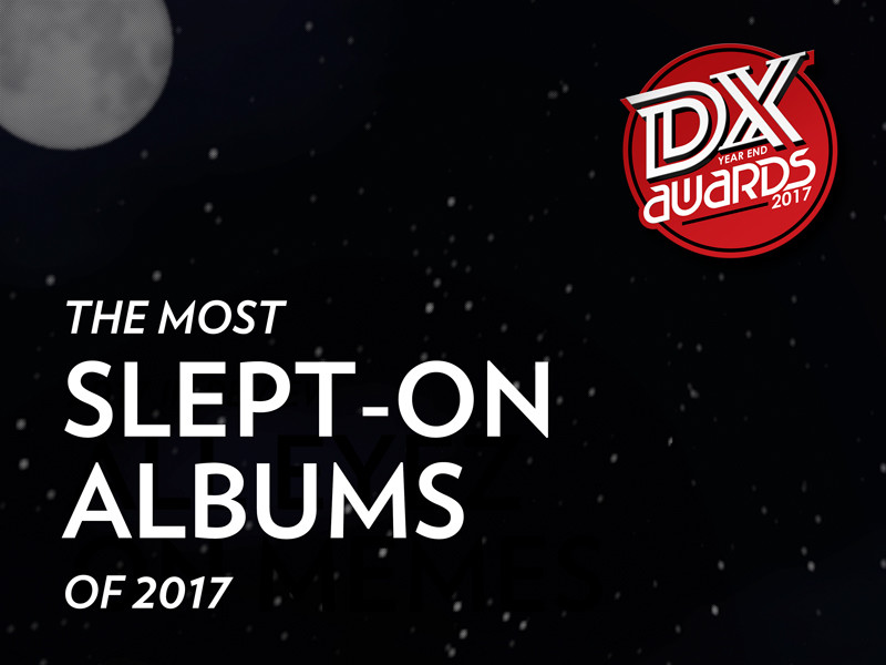 The Most Slept-On Rap Albums Of 2017