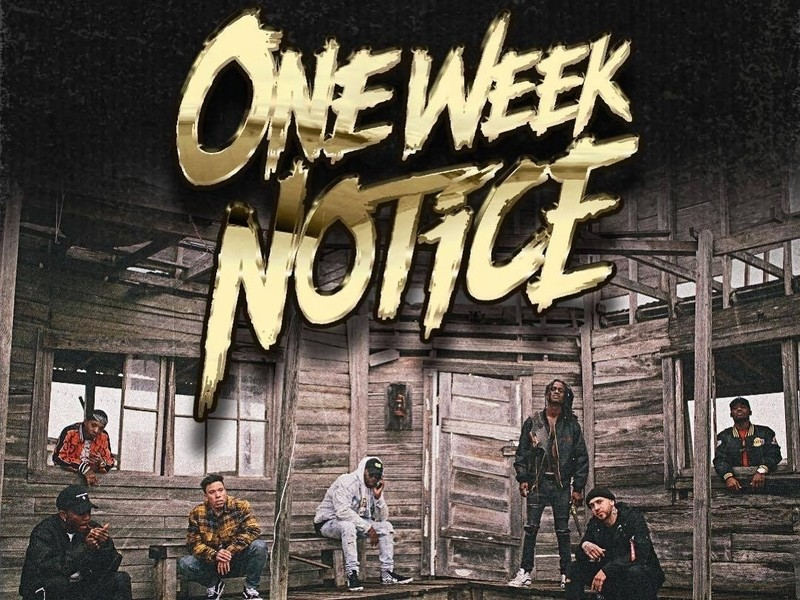 "Dizzy Wright, Audio Push, Jarren Benton & More Team For ""One Week Notice"" LP"