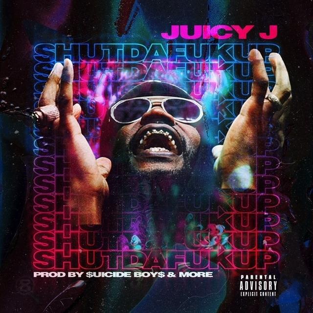 "Juicy J Shares ""Shutdafuckup"" Mixtape Cover Art & Release Date"
