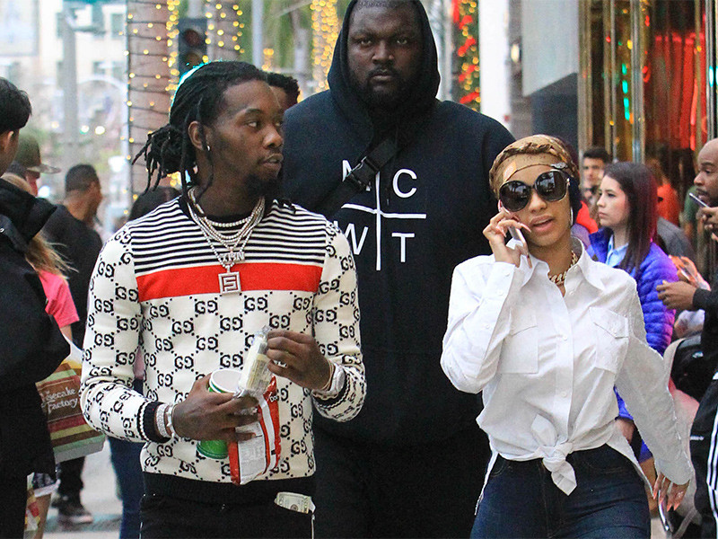 Offset Immortalizes Love For Cardi B With Neck Tattoo