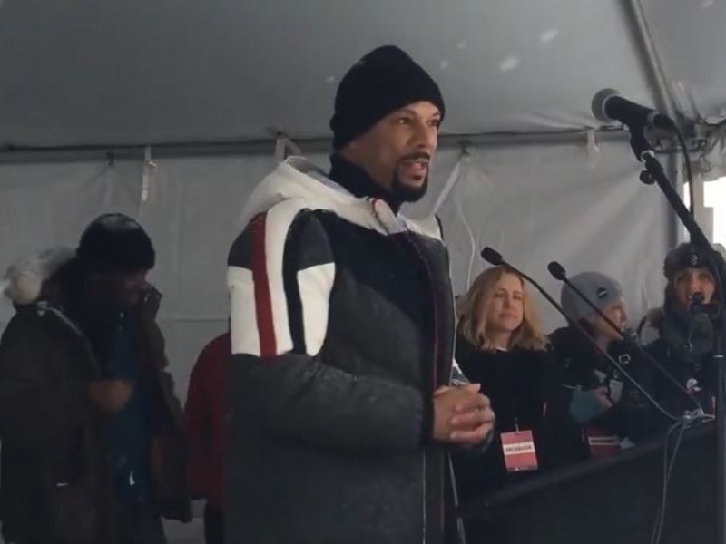 Common Spits Verse At 2018 Women's March