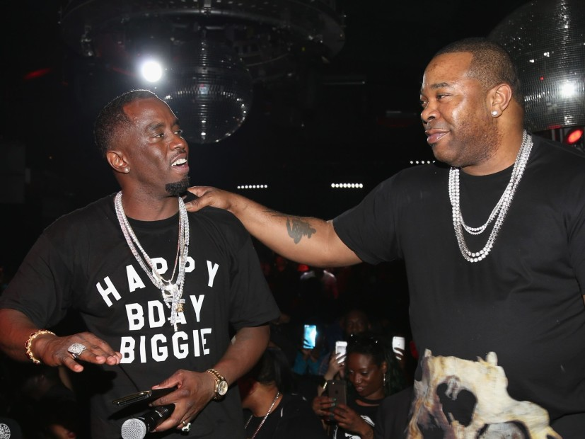 Busta Rhymes Supports Diddy S Rumored 1m Offer To H Amp M
