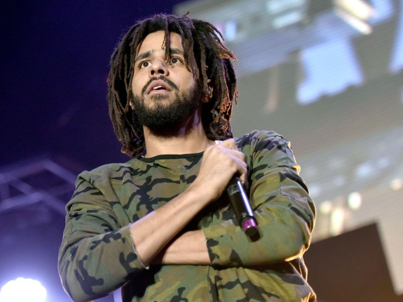 """J. Cole Shares Cover Art & Tracklist For """"KOD"""" With Listed Features"""