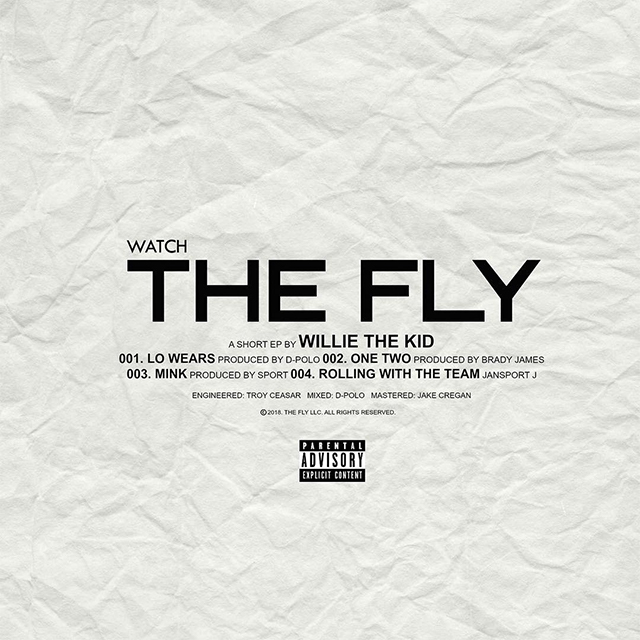 "Willie The Kid Shares ""Watch The Fly"" EP & Short Film"