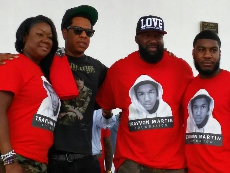JAY-Z Speaks At Trayvon Martin Peace Walk