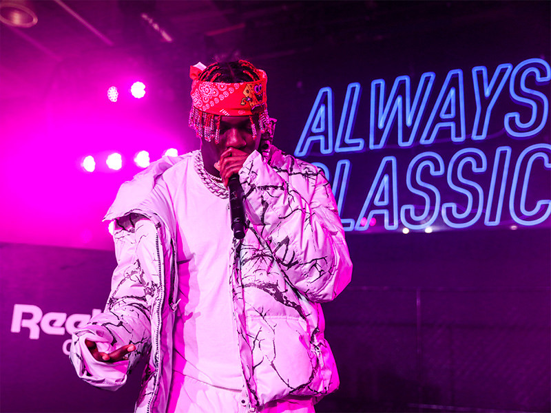 Lil Yachty Performs At Reebok Fashion Week Event