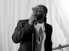 """T-Pain Becomes Wedding Singer For """"May I"""" Video"""