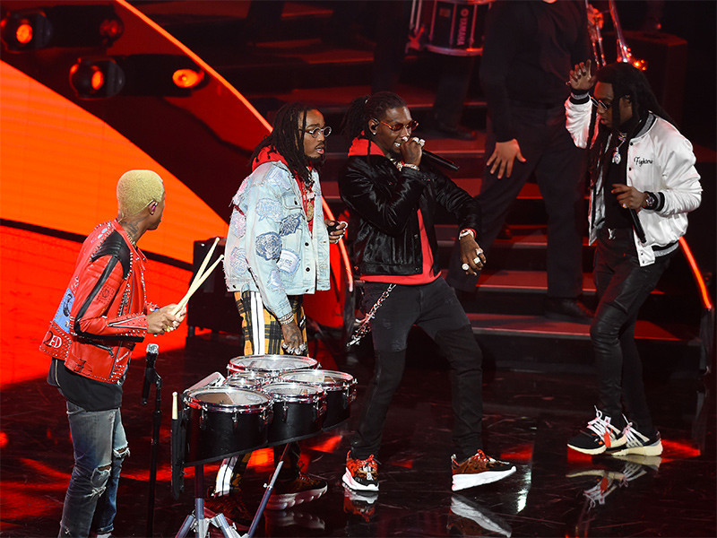 WATCH: N.E.R.D Brings Out Migos At 2018 NBA All-Star Halftime Show
