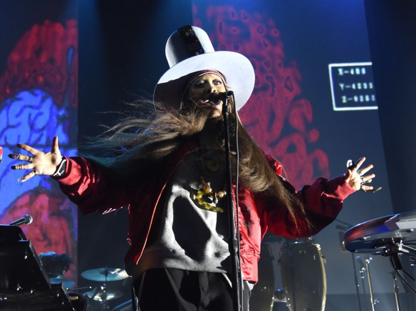 Erykah Badu Emissions Star-Studded Birthday Party On Facebook Live