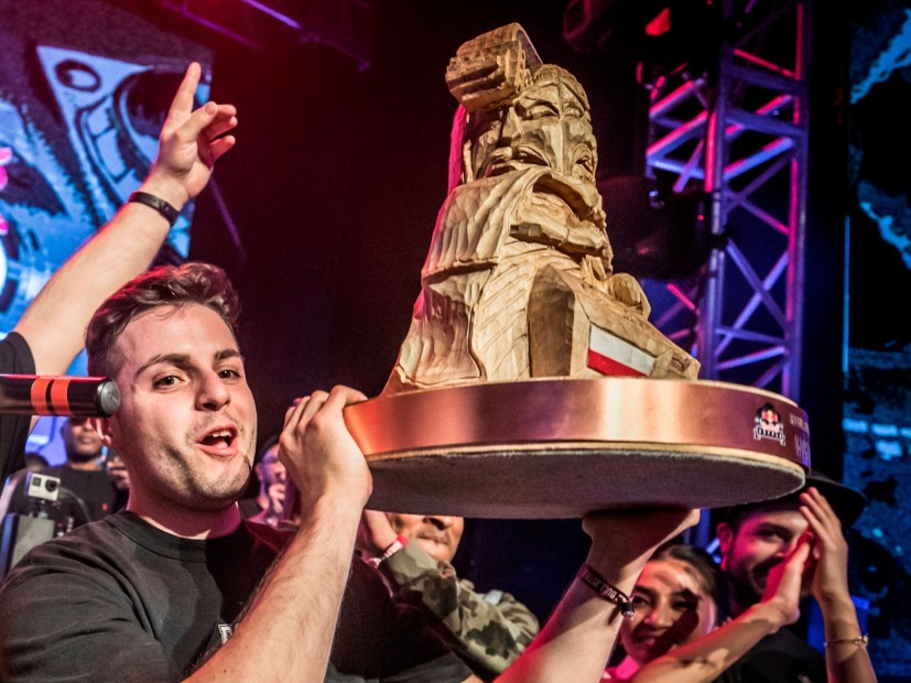 Italy's Damianito Wins 2018 Red Bull 3Style's World Title
