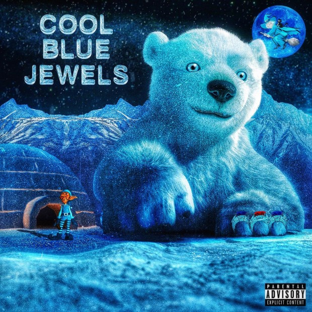 "Review: RiFF RAFF & DJ Afterthought's ""Cool Blue Jewels"" Is REM Trap Music"