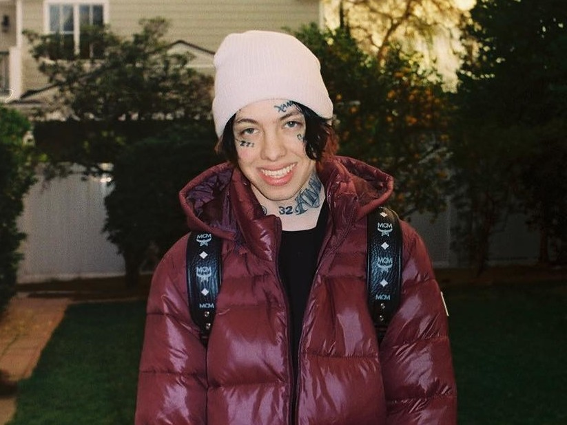 "Lil Xan Reveals Cover Art & Release Date For Debut Album ""TOTAL XANARCHY"""