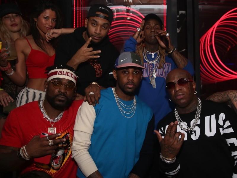 Lil Wayne Y Birdman Son Festejando Juntos En Miami Beach