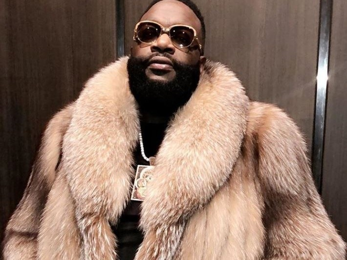 Rick Ross Shouts Out Meek Mill In 1st Post-Hospital Performance