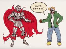 "Czarface & DOOM Go Full-On Superhero Mode In ""Bomb Thrown"" Video"