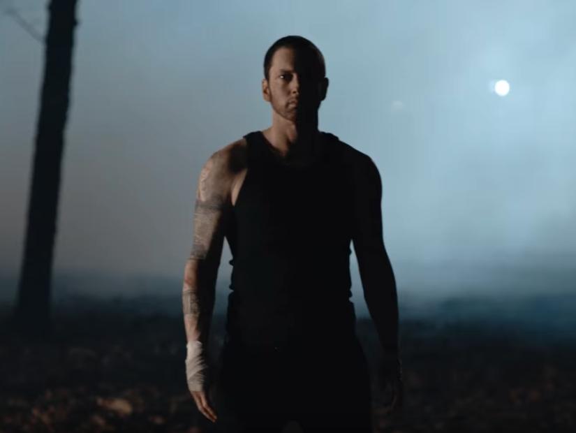 """Eminem Drops Trailer For """"Framed"""" Music Video"""