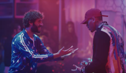 "Lil Dicky & Chris Brown Link For Blockbuster ""Freaky Friday"" Video"
