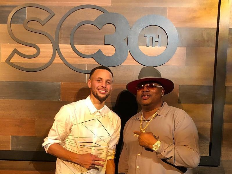 "E-40 Dubs Steph Curry's 30th Birthday ""One For The Books"""