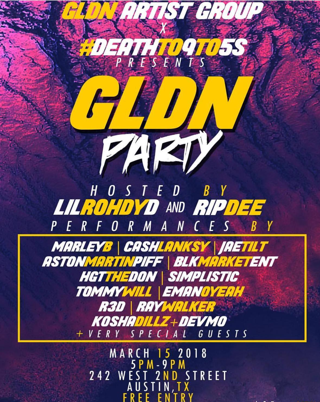 gldn party sxsw