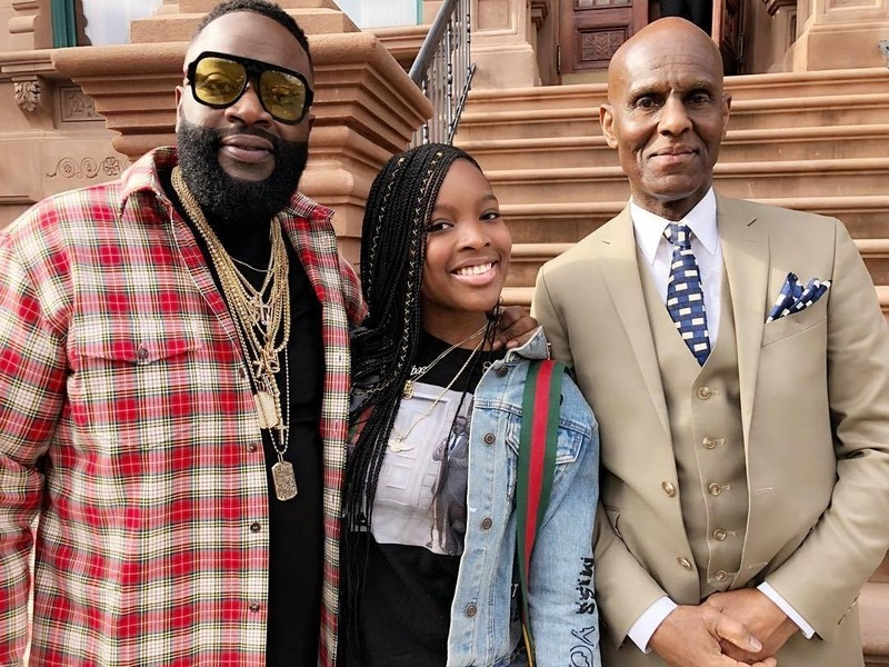 Rick Ross Buys Bentley For His Daughter S Sweet 16 Hiphopdx