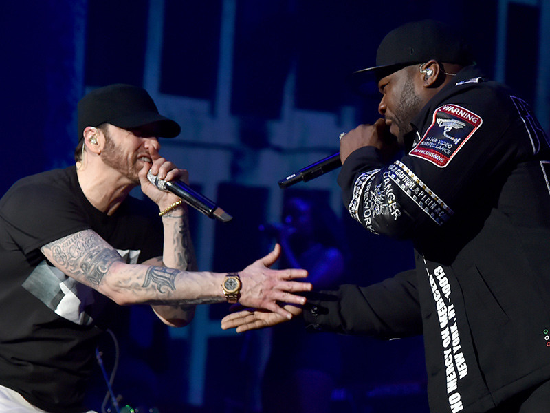 Eminem Brings Out Dr. Dre And 50 Cent For Coachella 2018 Performance
