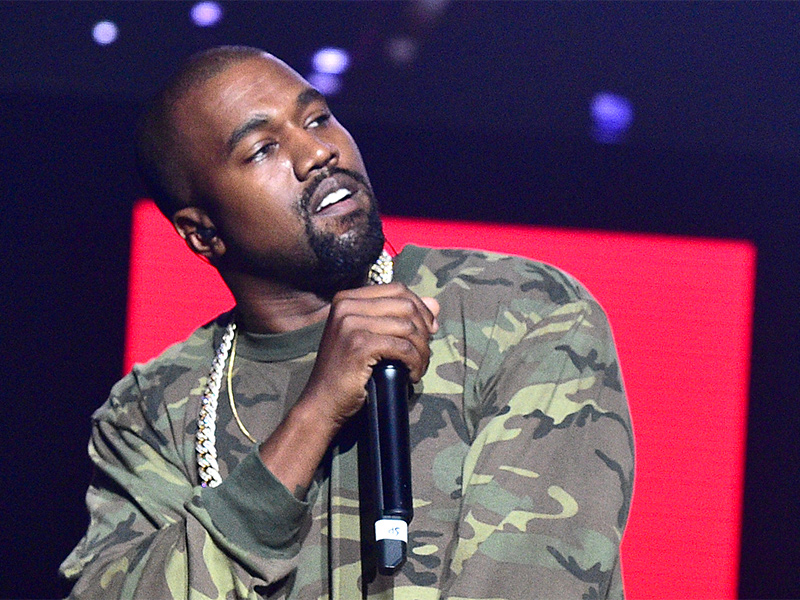 WATCH: Kanye West Freestyles For TMZ's Harvey Levin