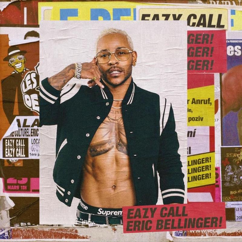 Eric Bellinger Eazy call ALBUM ARTWORK