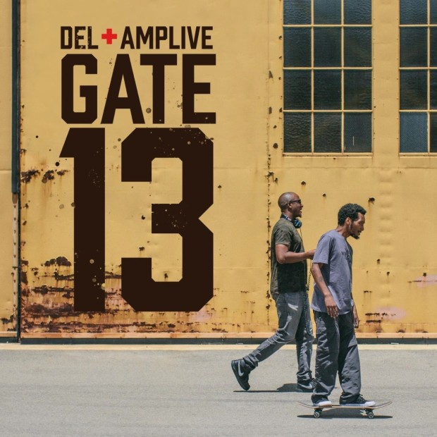 "Review: Del The Funky Homosapien & Amp Live Humbly Hit Their Stride On ""Gate 13"""