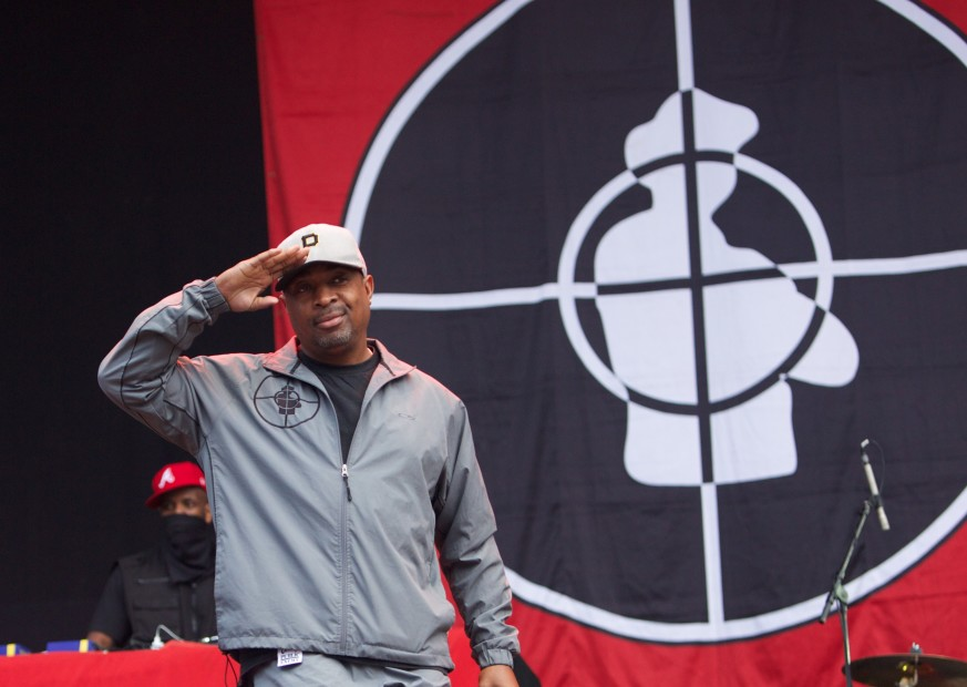 "Chuck D On Seeing Public Enemy Posters In ""Black Panther"" & His Message to JAY-Z & Diddy"