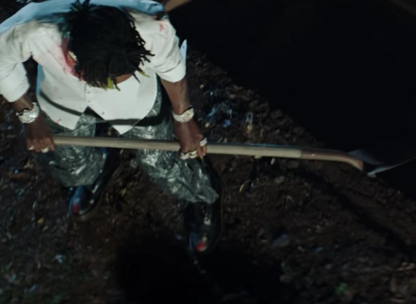 """Rico El Niño Continúa Anti-Lil Uzi Vert Campaña Mórbida """"Amigos Muertos"""" Video"""
