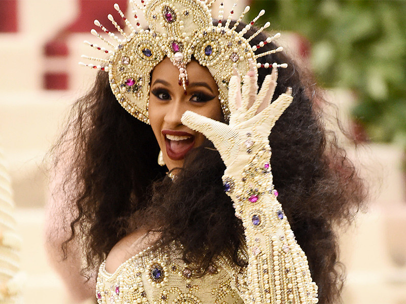 Cardi B's Security Accused Of Beating Down Fan After Met Gala