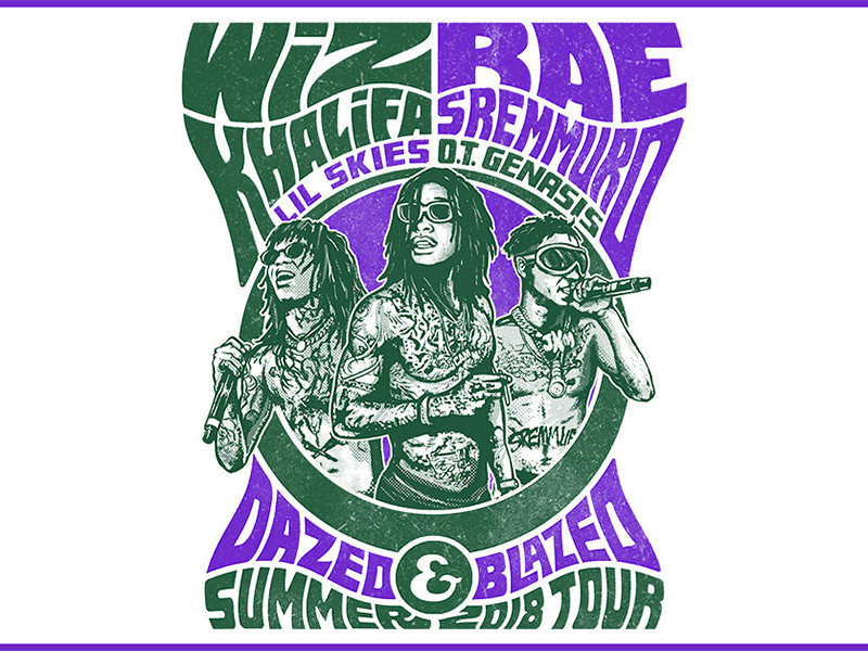 Wiz Khalifa & Rae Sremmurd Title In Dazed & Blazed 2018 Summer Tour