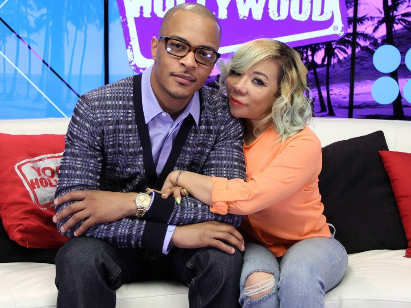 "T. I. Stops ""of the Family And the hustle and Bustle of the"" Movie-Following Sister's Car Accident"