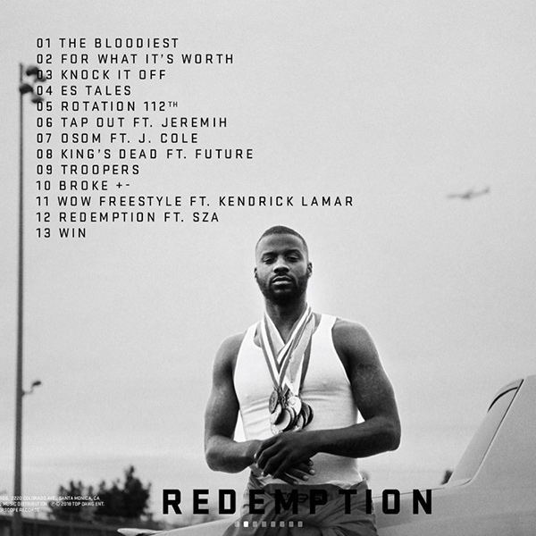 """Jay Rock Shares """"Redemption"""" Tracklist & New Single """"The Bloodiest"""""""
