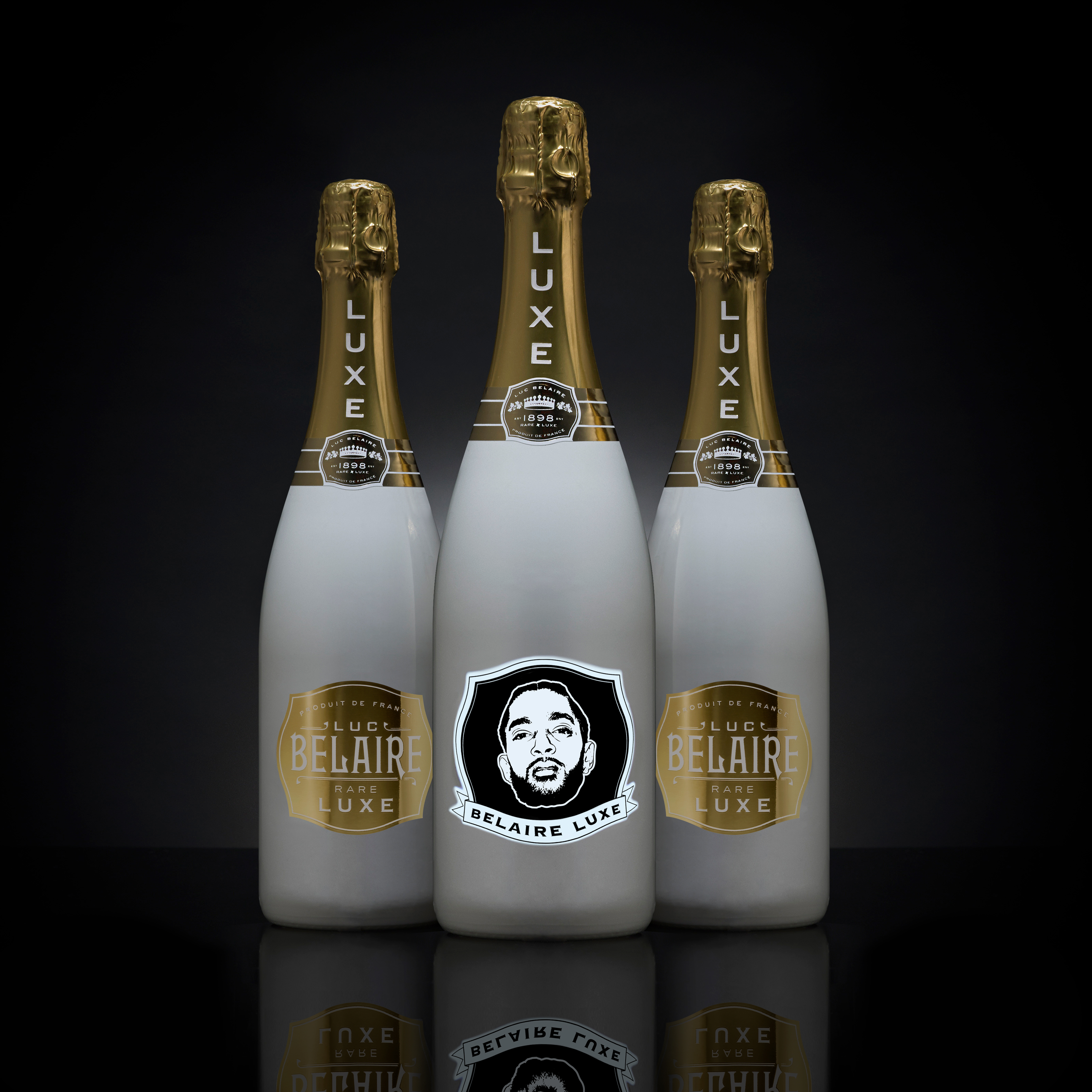 Luc belaire icon bottle series includes nipsey hussle a for What is rozay drink