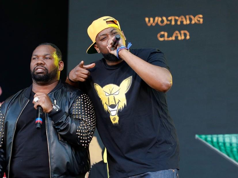 Eric B. & Rakim, Ice-T, Ghostface Killah & Raekwon A Título De 2018 Arte Del Festival De Rap