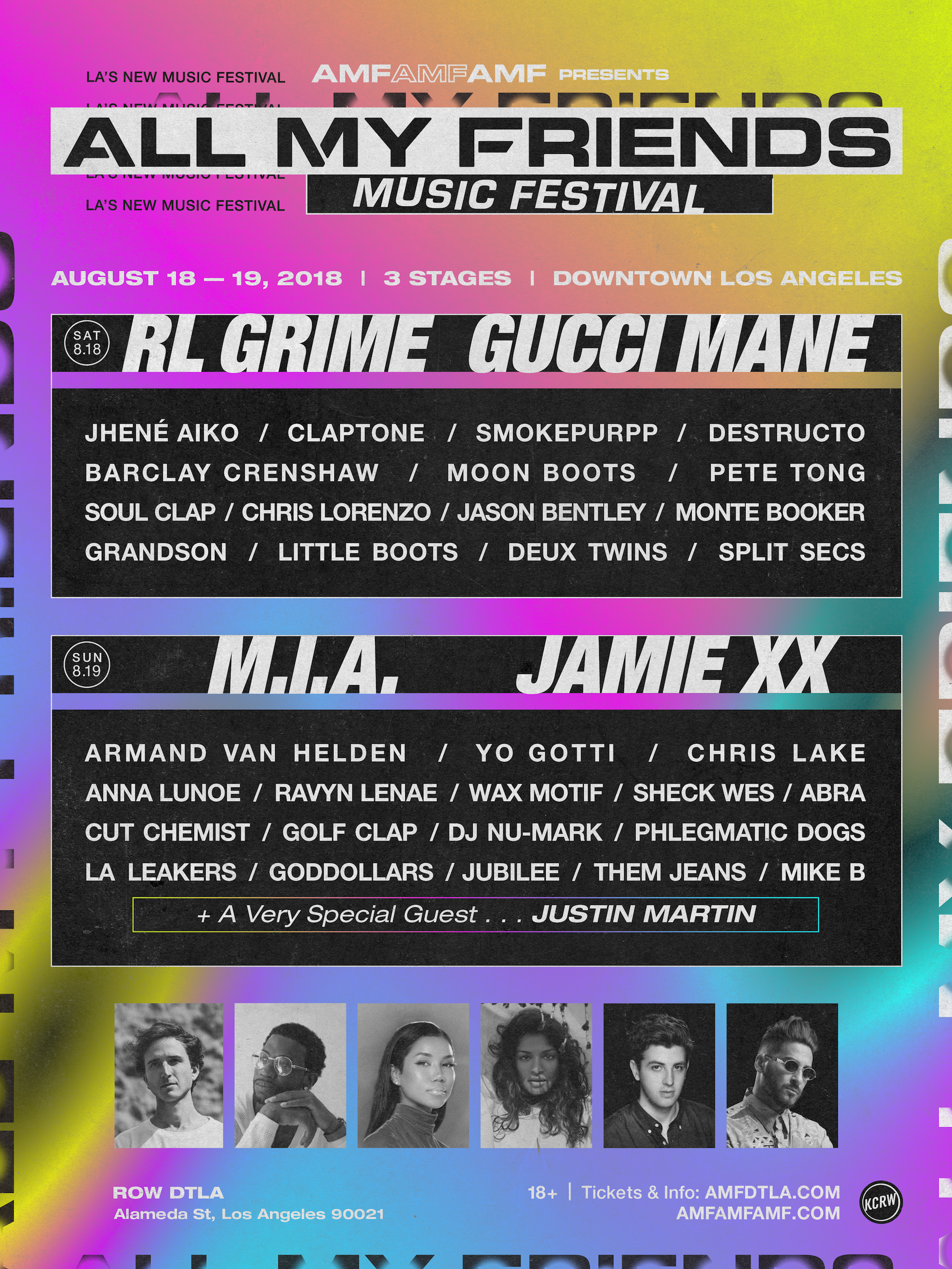 Gucci Mane, Jhene Aiko, Destructo & More To Grace AMF Fest 2018