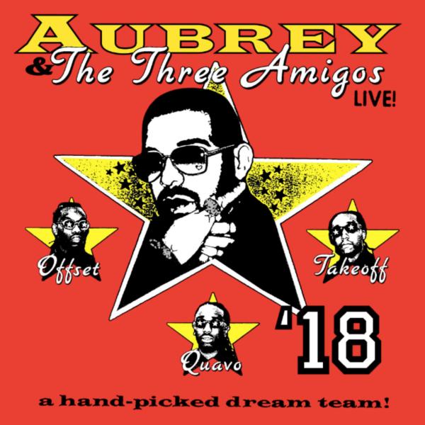 aubrey the three amigos tour